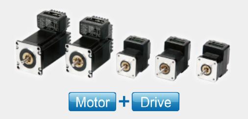 STM23R Series Integrated Stepper Motors