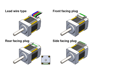 Square Flange mounting and Connection Options