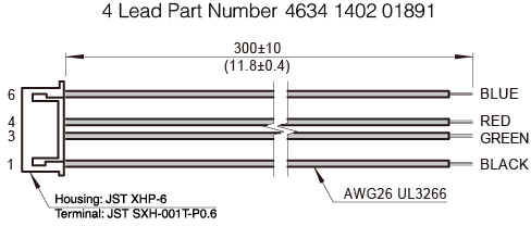 The harness drawing of NEMA23 non-captive linear stepper motors