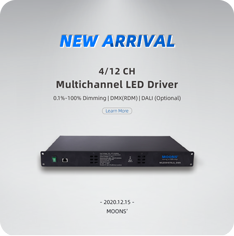 4/12 CH Multichannel LED Driver
