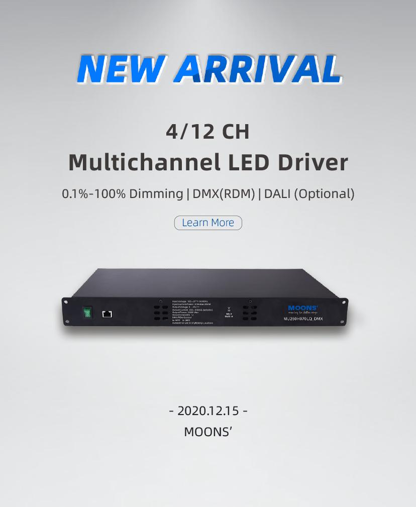 4/12 CH Multichannel LED Driver