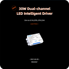30W Dual-channel LED Intelligent Driver