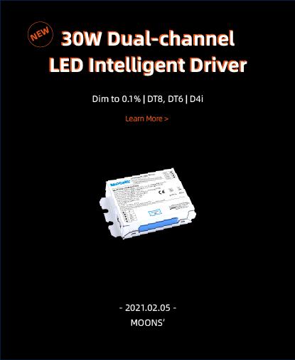 30W Dual-channel LED Intelligent Driver