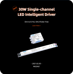 30W Single-channel LED Intelligent Driver