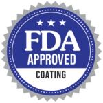 FDA approved coating