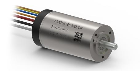MOONS' slotless motor