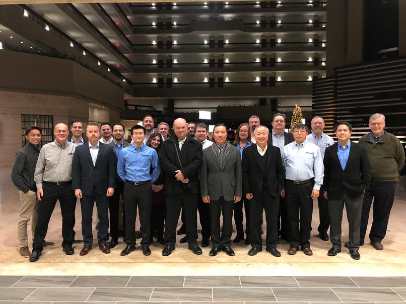 MOONS'北米営業会議開催成功