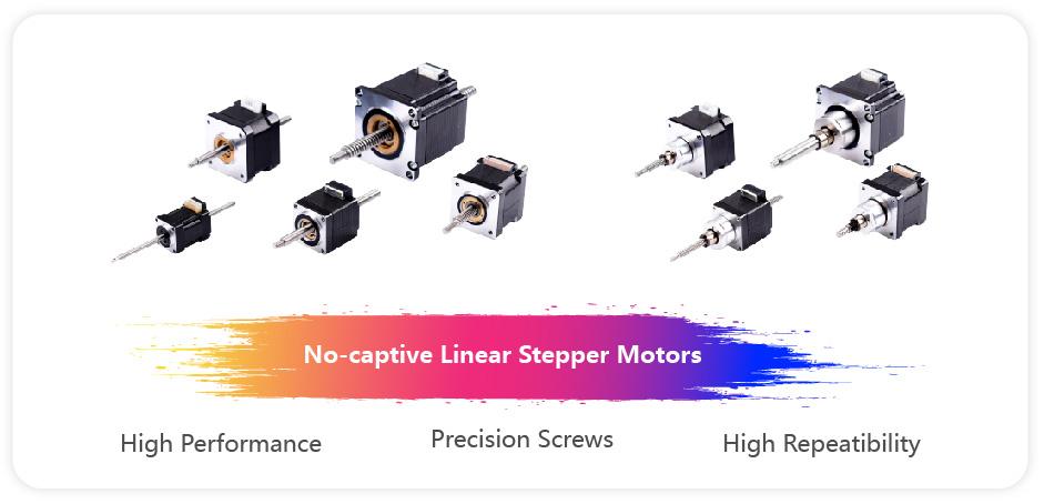 NEMA23 non-captive linear stepper motor