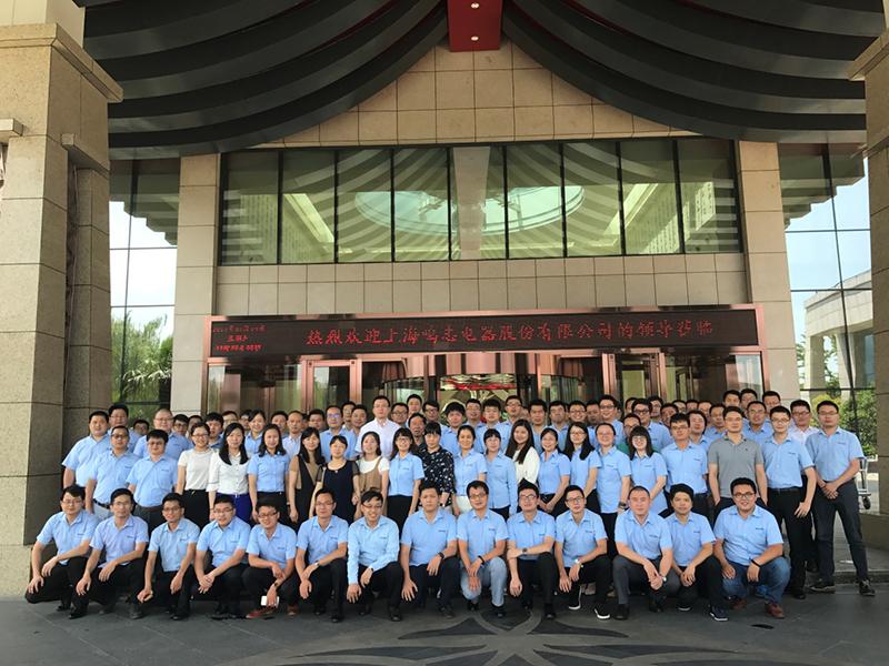 MOONS' 2017年上半期の中華圏営業会議が円満に終了